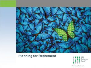 Planning for retirement webinar thumbnail.